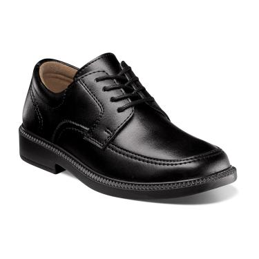 Florsheim Kids Billings Jr. Black Leather