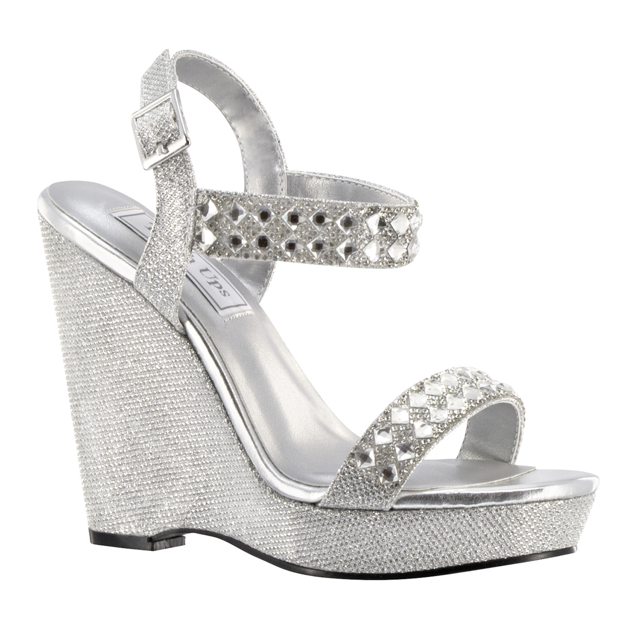 High Quality Wedding U0026 Evening Shoes · Touch Ups Brynn Silver