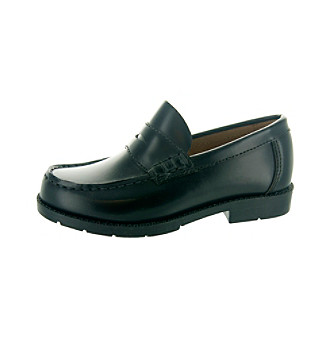 Academie Gear Josh Penny Loafer Black