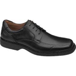 Johnston & Murphy Pattison Lace Up Black