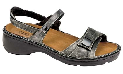 NAOT PAPAYA METAL LEATHER