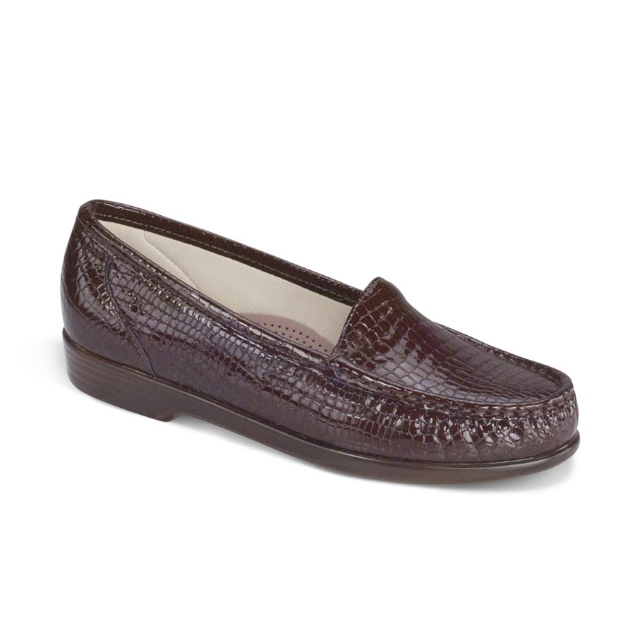 SAS Simplify in Brown Croc