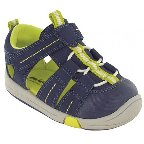 Jumping Jacks Beach Baby Dark Navy w/Citron