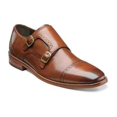 Florsheim Castellano Monk Saddle Tan