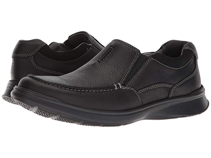 Clarks Cotrell Free Black Leather