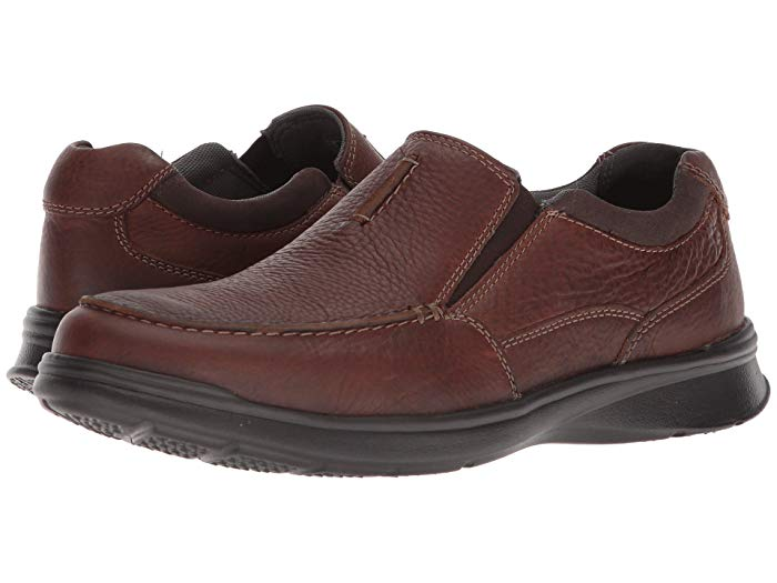 Clarks Cotrell Free Tabacco Leather