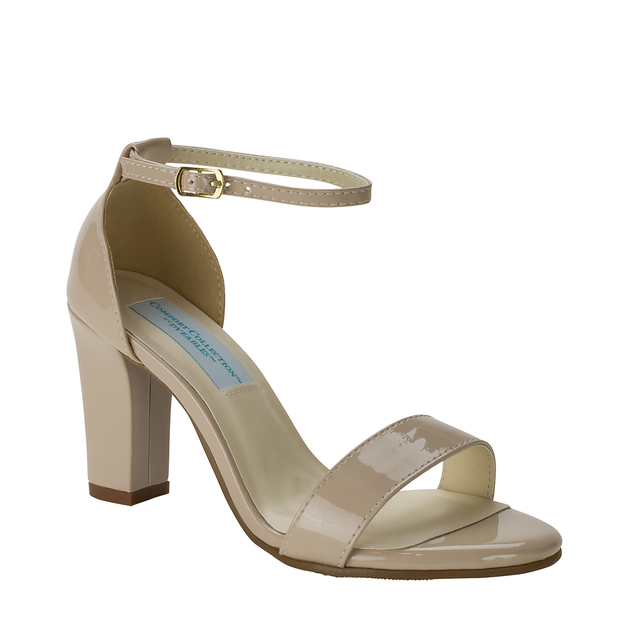 Dyeables Maddox Nude Patent