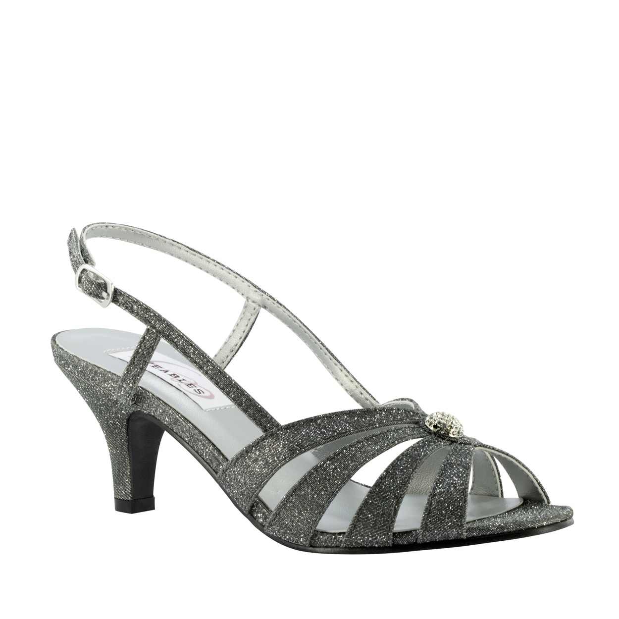 Wedding Evening Shoes Dyeables Fiona Pewter