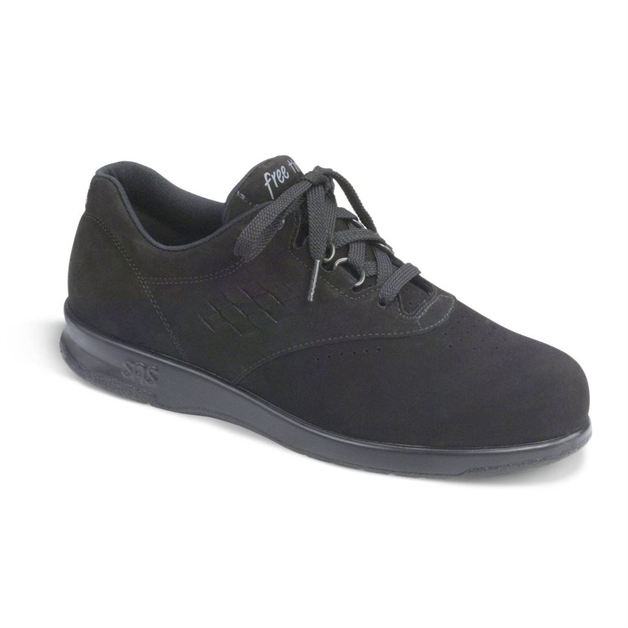 SAS Freetime in Charcoal Nubuck
