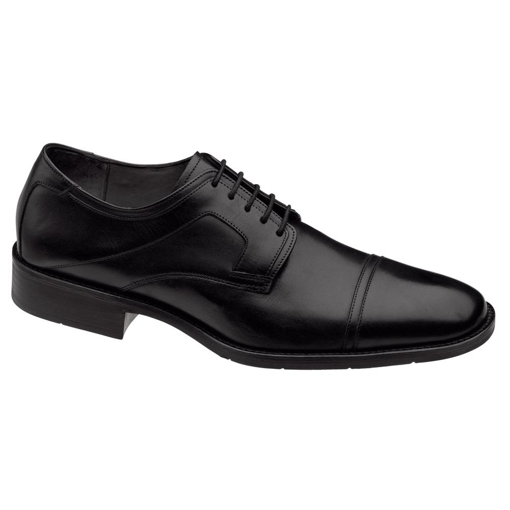 Johnston & Murphy Larsey Cap Toe Black