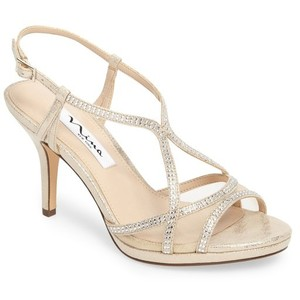 Nina Shoes Blossom Champagne
