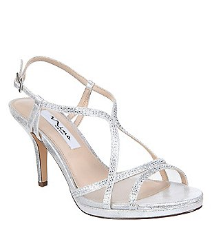 Nina Shoes Blossom Silver