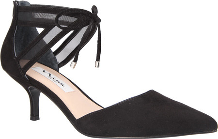 Nina Shoes Talley Black Suede