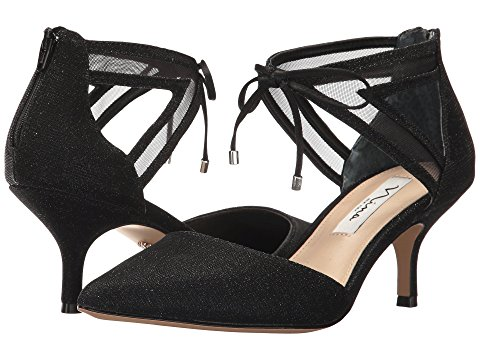 Nina Shoes Talley Black Shine
