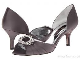 Nina Shoes Crystah Pewter