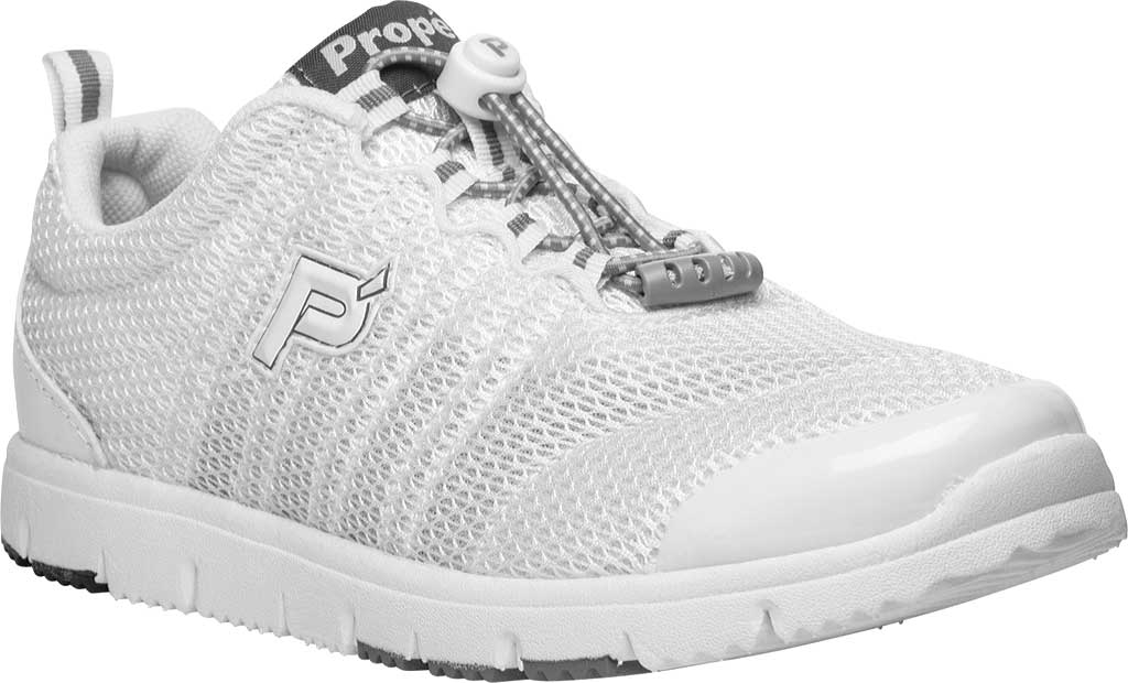 Propet TravelWalker II White Mesh Extra Wide
