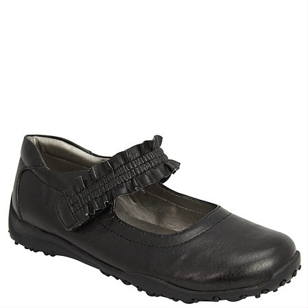 Nina Shoes Runalong Black Pebbled Mary Jane