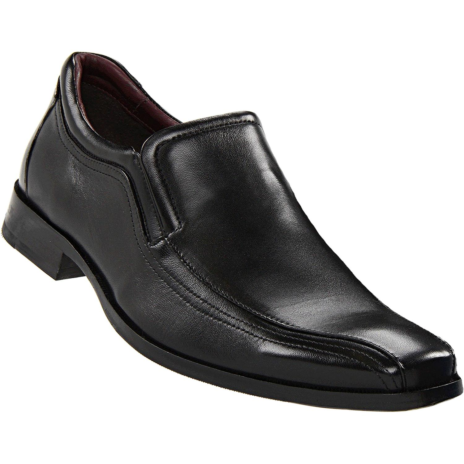 Johnston & Murphy Shaler Slip-On Black