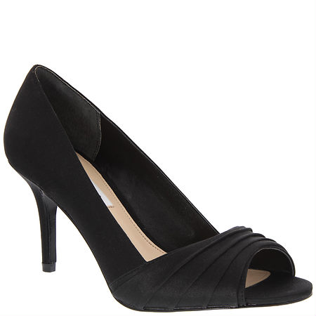 Nina Shoes Vesta Black Luster Satin