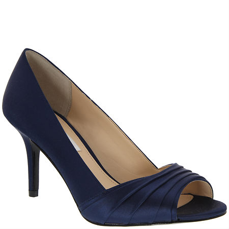 Nina Shoes Vesta Navy Satin